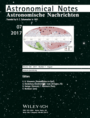 2017-Astronomische_Nachrichten