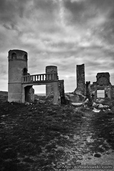 Ruin of the Saint-Pol-Roux Manor, Camaret-sur-Mer, Brittany, France, 2010
