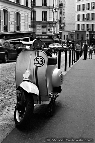 Herbie Scooter in Montmartre