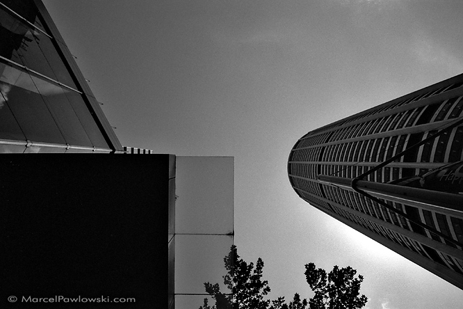 Black and white architecture shot from Sydney, part of the Quadrants photo series